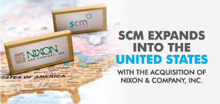 SCM Expands into the United States with the Acquisition of Nixon & Company, Inc.
